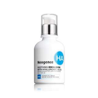 Neogence Soothing Emulsion with Hyaluronic Acid 霓淨思 玻尿酸舒緩修護乳 50ml 保濕