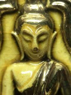 ✅Thai Amulet - Rare Khun Paen Partial Gold - Sliver Takrut - Lp Chuen - Lp Chern - BE2545 - Thai Amulets