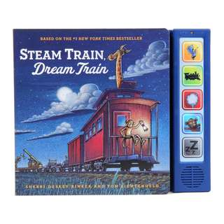 BRAND NEW Steam Train, Dream Train Sound Book Hardcover