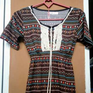 Ethnic blouse second