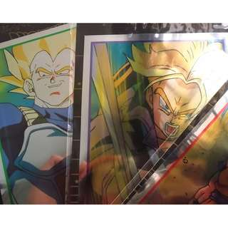 Dragonball laser post card (90s item)