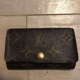 中古 LV Louis Vuitton key holder 鎖匙包