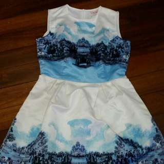 Free Postage Sunset dress