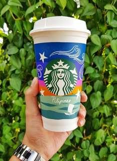 Limited Edition Starbucks Kape Vinta Reusable Cup