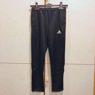 Adidas 拉鍊 窄管褲