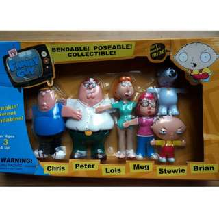 Family Guy Bendable Collectibles