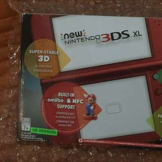 New Nintendo 3ds XL Red (US Version)