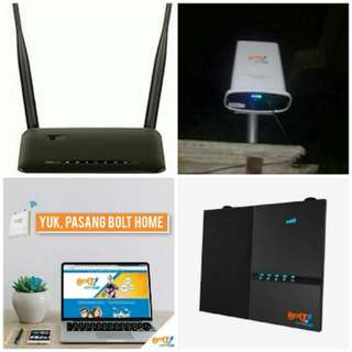 Bolt Home wifi internet unlimited