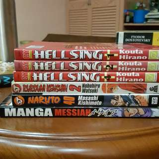 Assorted Manga Bundle