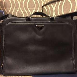 PRADA leather briefcase 公事包