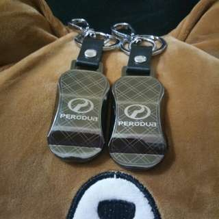 PERODUA CAR KEYCHAINS (METALLIC)