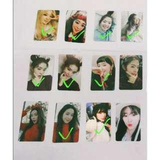 WTB Red Velvet's Irene photocards