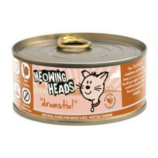 Meowing Heads Wet Food