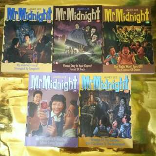 Mr. Midnight Book Collections