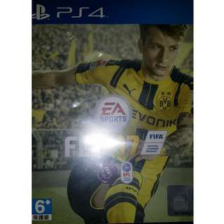 Fifa 17 for PS4.