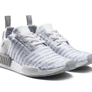 Adidas Nmd whiteout/ black out. Open trade to me size 8. Condition 9/10