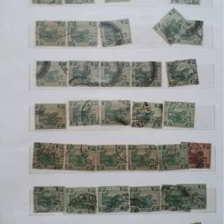 1000 1,000 STAMPS LOT - MALAYA / FEDERATED MALAY STATES inc. DUE MIXED