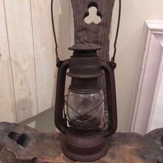🚚 #新春八折 老上海 * 煤油燈(高約23.5 cm)