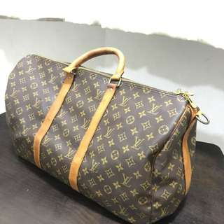 authentic lv keepal 55