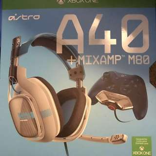 XBOX One A40 headset