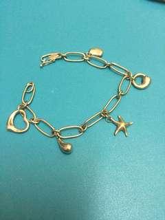 19cm Tiffany 925 银手链