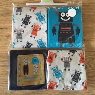 [Ready-stock] Primark 4-5yrs boys pyjamas (2 sets)