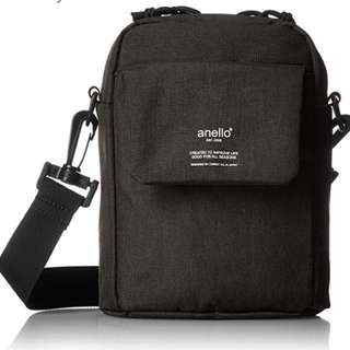 Anello Black Sling Bag