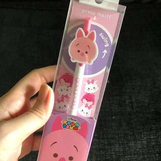 Instock Disney piglet Tsum Tsum ballpoint pen