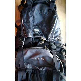 Hawk 60L Hiking/Outdoor Backpack
