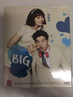"Original Korean Drama DVD Set ""Big"""
