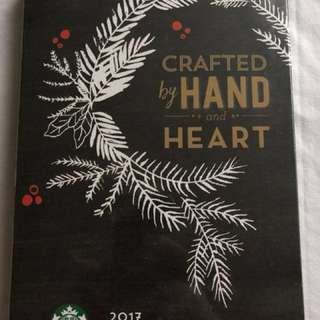 2017 Starbucks Planner-Brown