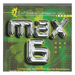MY CD -  MAX 6 -//  FREE DELIVERY BY SINGPOST