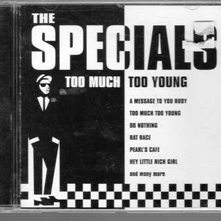 MY CD - THE SPECIALS--TOO MUCH TOO YOUNG-- FREE DELIVERY BY SINGPOST