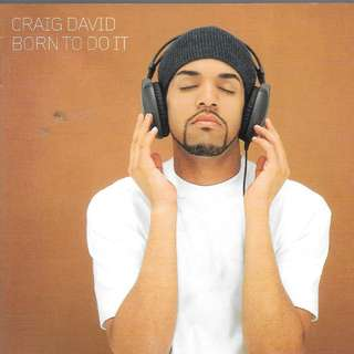 MY CD - CRAIG DAVID //BORN TO DO IT // FREE DELIVERY BY SINGPOST
