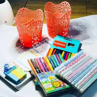 Take all for 399 colored pens design and craft journal