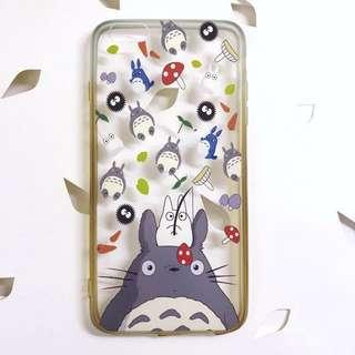 iPhone 6 plus / 6s plus 軟膠邊 龍貓 手機套 手機殼 保護套 Protective case