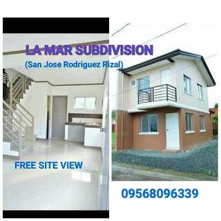 LA MAR SUBDIVISION (San Jose Rodriguez Rizal)