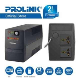 PROLINK 650VA with AVR/Super Fast Charging