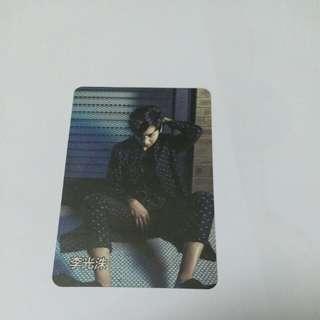 劉在石&李光洙yes card