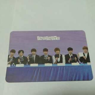 INFINITE yes card