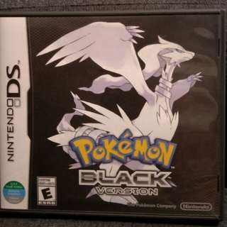 DS Pokemon Black Version