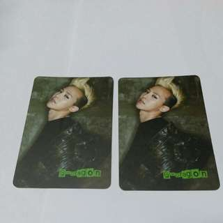 G-Dragon yes card