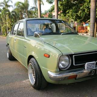 Corolla Ke30 Retro car
