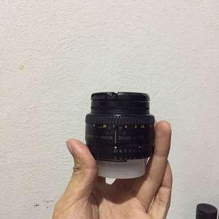 NIKKOR 50mm Lens