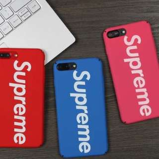 Supreme iPhone case 6-8