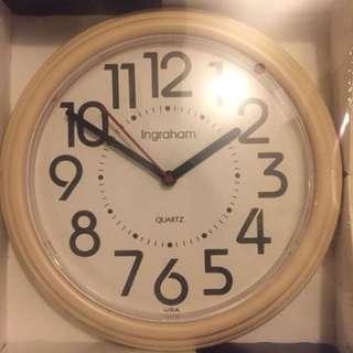 New in box wall clock
