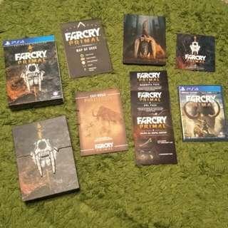 Brand New FarCry Primal Collector's Edition Box Set