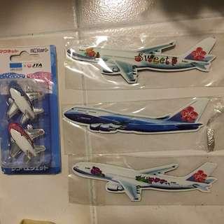 珍藏飛機磁石