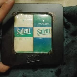 """Collector's Edition"" Old School 2 Packs Of Salem In A Metal Box"