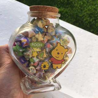Heart jar (with stars if you want)